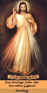 Barmherziger-Jesus-Heiliges-Jahr-Montag