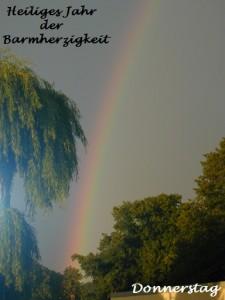 Donnerstag-Regenbogen